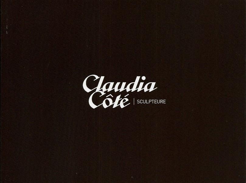 Livret d'artiste, de l'artiste Claudia Côté, Présentation du travail de l'artiste, La sculpteure Claudia Côté, l'experte du contreplaqué, vue 2