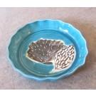 Assiette à tarte, # 1, de l'artiste Créations Ratté, medium : céramique, objet utilitaire cuit à très haute température, résistant au four, au micro-onde et au lave-vaisselle