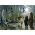 Carte de souhaits 5x7, Bog, de l'artiste Félix Girard, dimension : 5 x 7 pouces largeur, sans texte, avec enveloppe, Vous pouvez inscrire votre message à l'intérieur. Carte vendue à l'unité