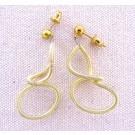 Boucles d'oreilles LIANE, no 97, de l'artiste Sandrine Giraud, Paris