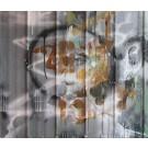 Bouleau, de l'artiste Sandy Cunningham, Tableau, Acrylique sur tôle, Création unique, dimension : 28 x 33.5 po de largeur