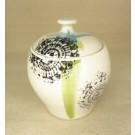 Contenant, no 3, de l'artiste Nancy Lavigueur, en semi-porcelaine, pièce vendue à l'unité