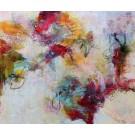 Désir de vivre (t.encadré), de l'artiste Marie-Claire Plante, Tableau, Techniques mixtes, acrylique, encre, pigments secs, fusain, pastel, crayon, Création unique, dimension 30 x 36 pouces de largeur