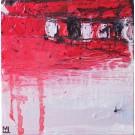 Élan, de l'artiste Marie-Eve Lachance, Tableau, Huile, Création unique, dimension 8 x 8 pouces de largeur