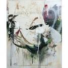 En bordure de la forêt, de l'artiste Sandy Cunningham, Tableau, Techniques mixtes sur toile, Création unique, dimension : 24 x 20 po de largeur