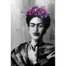 Frida, de l'artiste Jean-Simon Bégin, Tableau, Huile sur toile, Création unique, dimension 72 x 48 pouces de largeur