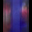 Frost and Decimals XIII, de l'artiste Melisa Taylor-Metzger, Tableau, Pyrogravure et aérosol sur bois, Création unique, dimension 14 x 11 pouces de largeur
