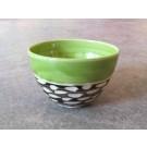 Gobelet, # 2, de l'artiste Créations Ratté, medium : céramique, objet utilitaire cuit à très haute température, résistant au four, au micro-onde et au lave-vaisselle