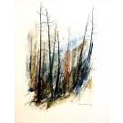 Heureux de printemps, de l'artiste Marie-Claude Bouchard, Tableau, Acrylique sur toile, Création unique, dimension 40 x 30 pouces de largeur