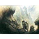 L'Ascension, affiche, de l'artiste Félix Girard, sur papier Hahnemühle Fine Art Photo Rag avec de l'encre à pigment, dimension : 11 x 14 pouces de largeur, affiche prête à être encadrée