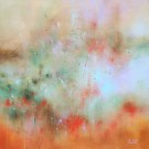 La réparation, de l'artiste Sophie Ouellet, Tableau, acrylique sur toile, Création unique, dimension : 36 x 36 po de largeur