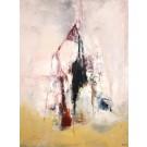 La tour dessert, de l'artiste Benoit Genest Rouillier, Tableau, Acrylique sur toile, Création unique, dimension : 40 x 30 po de largeur