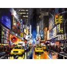 La forêt des lumières, de l'artiste Jean-Simon Bégin, Tableau, Huile sur toile, Création unique, dimension 40 x 60 pouces de largeur