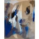 Mangata 44, de l'artiste Mélisa Taylor, Tableau, Acrylique sur bois, Création unique, dimension 14 x 11 pouces de largeur