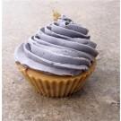 Muffin Crème de Sureau, de l'artiste Oasis Douceur, Savon fait à base d'huile végétale, ne contient aucun additif ni fragrance chimique, Fragrance obtenue à partir d'huile essentielle issue de la nature.