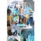 Neverland, de l'artiste Sandy Cunningham, Tableau, Acrylique sur toile, Création unique, dimension : 36 x 24 po de largeur