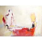 Pétrole intraveineux, de l'artiste Benoit Genest Rouillier, Tableau, Acrylique sur toile, Création unique, dimension : 36 x 48 po de largeur