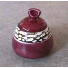 Sucrier, # 2, de l'artiste Créations Ratté, medium : céramique, objet utilitaire cuit à très haute température, résistant au four, au micro-onde et au lave-vaisselle