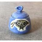 Sucrier, # 3, de l'artiste Créations Ratté, medium : céramique, objet utilitaire cuit à très haute température, résistant au four, au micro-onde et au lave-vaisselle