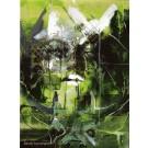 Carte de souhaits 7x5, Thuya, de l'artiste Sandy Cunningham, dimension : 7 x 5 pouces largeur, sans texte, avec enveloppe  Vous pouvez inscrire votre message à l'intérieur.  Carte vendue à l'unité