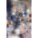 Turbulence 15, de l'artiste Mélisa Taylor, Tableau, Pyrogravure et aérosol sur bois, Création unique, dimension 71 x 47 pouces de largeur