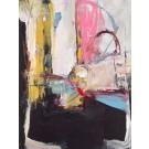 Un lundi loin du solage, de l'artiste Benoit Genest Rouillier, Tableau, Acrylique sur toile, Création unique, dimension : 40 x 30 po de largeur