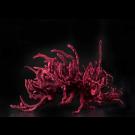 Velvet underground, de l'artiste Julie Savard, Sculpture, acier, polyuréa, fibre textile, dimension : 26.5 x 16.5 x 23.5 po