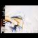 La ligne verte, de l'artiste Annie Lévesque, Tableau, technique mixte sur toile, 53 x 72 pouces Lévesque, dimension : 53 x 72 pouces de largeur