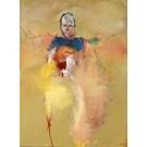 Acide ensoleillé, de l'artiste Benoit Genest Rouillier, Tableau, Acrylique sur toile, Création unique, dimension : 48 x 36 po de largeur