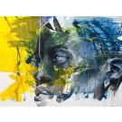 Carapace, de l'artiste Sandy Cunningham, Tableau, Acrylique, Création unique, dimension : 36 x 48 po de largeur