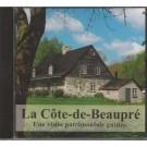 CD La Côte-de-Beaupré, Une visite patrimoniale guidée, de la Société du patrimoine et d'histoire de la Côte-de-Beaupré, CD, Présentation de lieux historiques de la Côte-de-Beaupré, vue 1