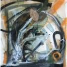 Mother earth, cher tournesol, de l'artiste Sandy Cunningham, Tableau, Techniques mixtes, Création unique, dimension : 30 x 30 po de largeur