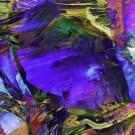 Duale 2, des artistes Etienne Saint-Amant et Éric Dupont, Tableau, Encres pigmentées, papier photo professionnel, acrylique muséal, antireflet, sur aluminium, Création unique, Dimension : 36 po x 36 po de largeur