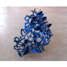 Essaim V.4, Sculpture, de l'artiste Julie Savard, Aluminium, dimension : 13 x 14 x 14 pouces largeur