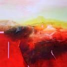 Carte de souhaits 5x5, Guérir, de l'artiste Sophie Ouellet, dimension : 5 x 5 pouces largeur, sans texte, avec enveloppe, Vous pouvez inscrire votre message à l'intérieur, Carte vendue à l'unité