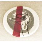 Repose-cuiller, no 20, de l'artiste Nancy Lavigueur, utilitaire en porcelaine, dimension : 15.5 pouces de circonférence, 4.75 pouces de diamètre, pièce vendue à l'unité