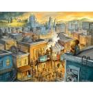 La Blonde d'Abraham, affiche, de l'artiste Félix Girard, sur papier Hahnemühle Fine Art Photo Rag avec de l'encre à pigment, dimension : 14 x 18 pouces de largeur, affiche prête à être encadrée