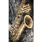 Le fond d'une personne, de l'artiste Jean-Simon Bégin, Tableau, Huile sur toile, Création unique, dimension 60 x 36 pouces de largeur