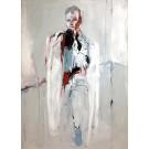 Le général, de l'artiste Benoit Genest Rouillier, Tableau, Acrylique sur toile, Création unique, dimension : 60 x 40 po de largeur