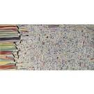 Les fauteux d'trouble (t.encadré), de l'artiste Elyse Turbide, Acrylique sur toile, Dimension : 18 x 36 po de largeur