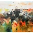 Carte de souhaits 5x5, Mon histoire personnelle, de l'artiste Sophie Ouellet, dimension : 5 x 5 pouces largeur, sans texte, avec enveloppe, Vous pouvez inscrire votre message à l'intérieur, Carte vendue à l'unité
