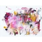 Muladhara, de l'artiste Zoé Boivin, Oeuvre sur papier, Médiums mixtes, Création unique, dimension 9 x 12 pouces de largeur