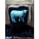 Oser la liberté, de l'artiste Anik Lachance, Tableau, Techniques mixtes sur toile, Création unique, dimension : 8 x 6 po de largeur