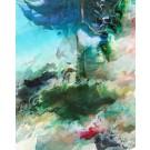 Pinaceae  (Série Duale), des artistes Etienne Saint-Amant et Éric Dupont, Tableau, Encres pigmentées, papier photo professionnel, acrylique muséal, antireflet, sur aluminium, Création unique, Dimension : 60 po x 48 po de largeur