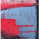 Poussée, de l'artiste Marie-Eve Lachance, Tableau, Huile, Création unique, dimension 8 x 8 pouces de largeur
