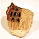 Roche (grosse), # 69, de l'artiste Claudia Côté, Sculpture, Bois mixte, Création unique, vue A
