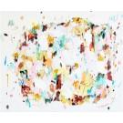 Royaume invisible, de l'artiste Zoé Boivin, Tableau, Médiums mixtes sur toile, Création unique, dimension 30 x 36 pouces de largeur