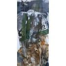 Sous le pin, de l'artiste Sandy Cunningham, Tableau, Acrylique sur toile, Création unique, dimension : 48 x 24 po de largeur