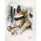 Stadacona, affiche, de l'artiste Félix Girard, sur papier Hahnemühle Fine Art Photo Rag avec de l'encre à pigment, dimension : 18 x 14 pouces de largeur, affiche prête à être encadrée