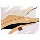 Until we meet, no 8, de l'artiste Vanessa Sylvain, Oeuvre sur papier, Acrylique sur papier, Création unique, dimension : 9 x 12 pouces de largeur